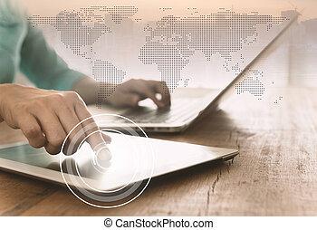 世界的な結線, インターネット