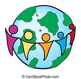 世界的な結線, 概念
