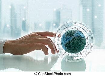 世界的な結線, 概念, ネットワーク