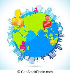 世界的に, ネットワーキング, 人間