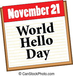 世界, こんにちは, 日