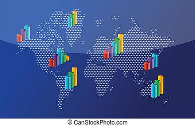 世界, のまわり, ビジネス