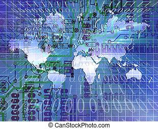 世界, インターネット