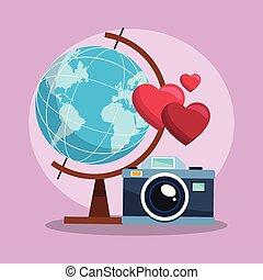 世界, カメラ