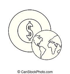 世界, コイン銀行