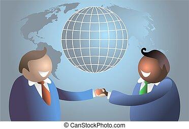 世界, コミュニケーション