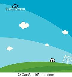 世界, サッカー, トーナメント, 2018