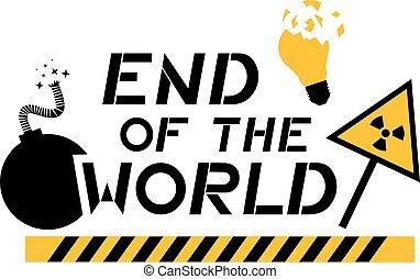世界の終わりクリップアートベクターとイラスト236 世界の終わり