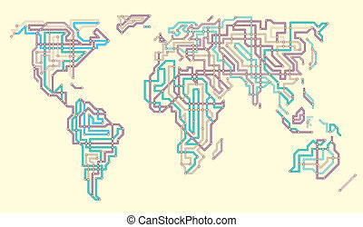 世界, 地下鉄