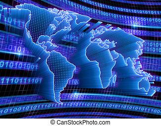 世界, 技術