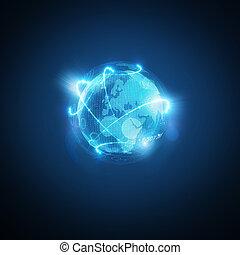 世界, 接続される