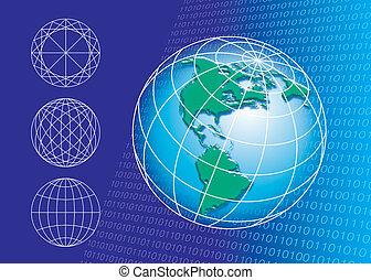 世界, 接続