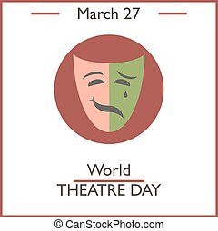 世界, 日, 劇場
