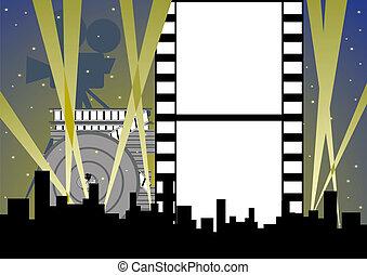 世界, 映画館