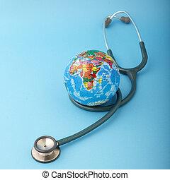 世界, 概念, 健康, 日, 象徴的