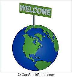 世界, 歓迎