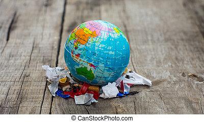 世界, 污染, 概念