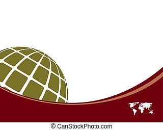 世界, 背景, テンプレート, 地図