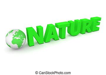 世界, 自然