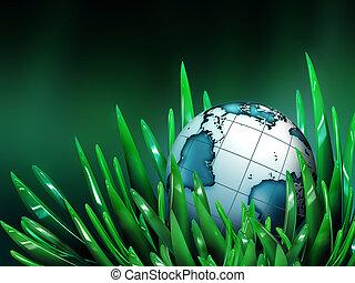 世界, 草