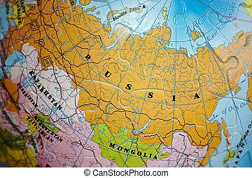 世界, 3d, puzzle:, russia