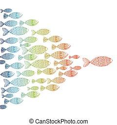 世界, fish