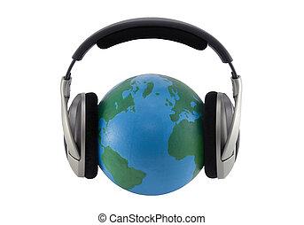世界, music., クリッピング道, included
