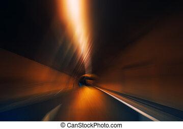 中に, ∥, トンネル