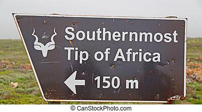 中に, 南アフリカ, 印, の, ∥, ほとんど, 南, アフリカ, ポイント