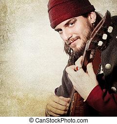 中世, 曲芸師