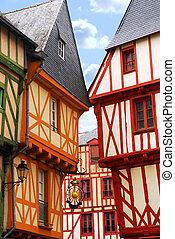 中世, vannes, フランス
