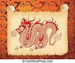 中国のドラゴン, パターン