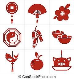 中国の新年, アイコン