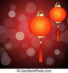 中国語, ランタン