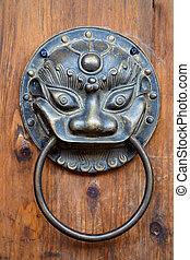 中国語, 一角獣, ドア・ノブ