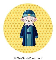 中国語, 人々, 主題, 要素