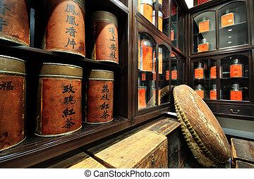 中国語, 喫茶店