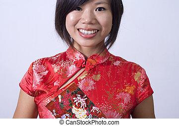 中国語, 女の子