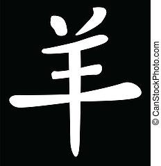 中国語, 年の ヒツジ
