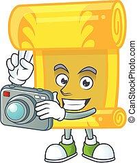 中国語, 涼しい, スクロール, 金, カメラマン, 特徴, カメラ
