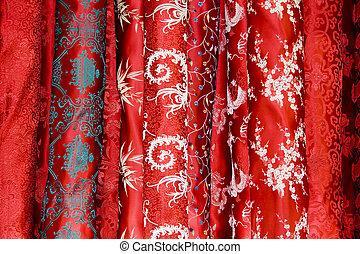 中国語, 絹