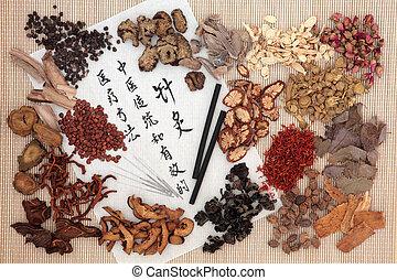中国 薬, 草