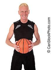 中央の, 40年代, バスケットボール選手