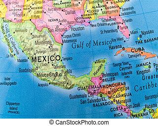 中央メキシコ, 世界的である, -, アメリカ, 勉強する