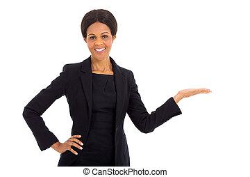 中年層, 提出すること, アフリカ, 女性実業家