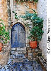 中庭, ギリシャ語