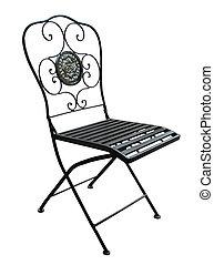 中庭, 華やか, 椅子