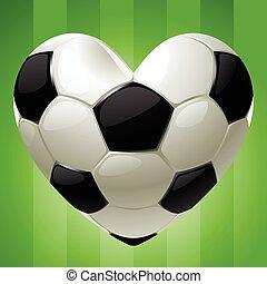 中心の 形, ボール, フットボール