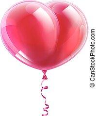 中心の 形, balloon