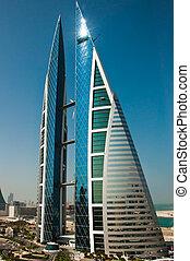 中心, 世界, bahrain., 取引しなさい